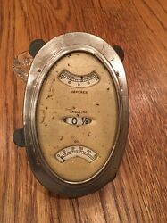 20 And039s 30 And039s Hupmobile Packard Auburn Ampere Oil Gasoline Dash Gauge Cluster
