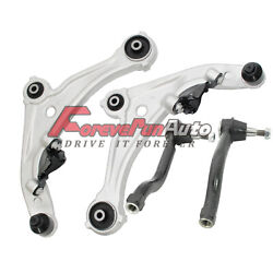 4pc Front Lower Control Arm Ball Joint Outer Tie Rod for 2007-2012 Nissan Altima