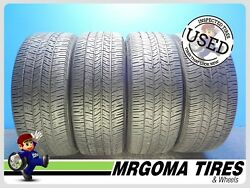 Set Of 4 Goodyear Eagle Rs-a 245/55/18 Used Tires 8/32 Rmng No Patch 2455518