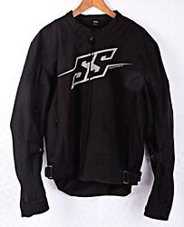 Speed And Strength Mens Hammer Down Textile Motorcycle Jacket Size Large