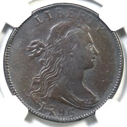1796 S-113 R-5 Ngc Fine Details Rev Of And03997 Draped Bust Large Cent Coin 1c