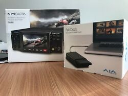 AJA KI-PRO-ULTRA Player Monitor 4K/UltraHD and 2K/HD Recorder/Player - kit!
