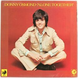 Donny Osmond, Alone Together Vinyl Record Used