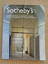 Sotheby's Art Auction Catalog 2002 Milano Italy Antique Furniture Silver Wine