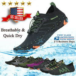 Water Shoes Quick Dry Barefoot For Swim Diving Surf Aqua Sport Beach Vacation