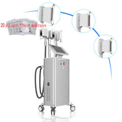 3 Handles Freezing Frozen Vacuum Cold Cooling Weight Loss Remove Machine