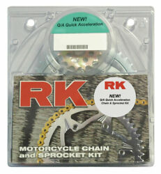Rk Xso Rx-ring 520 Quick Acceleration Chain/sprocket Kit 15/43 Gold 3066-069pg