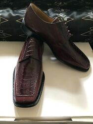 Genuine Ostrich And Leather Men's Shoes We Also Make Custom Suits, Shirts And Ties