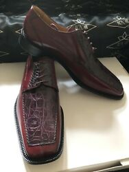 Croc And Leather Men's Shoes We Also Make Custom Suits, Shirts And Ties
