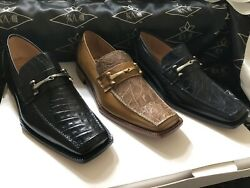 Crocodile And Leather Men's Shoes We Also Make Custom Suits, Shirts And Ties