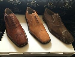 Crocodile And Ostrich Men's Shoes We Also Make Custom Suits, Shirts And Ties