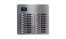 15a- Digital Power Distribution Panel,18+position Blue Sea Switch Systems