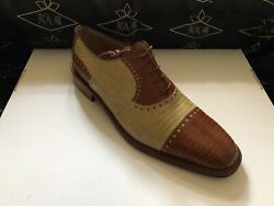 Genuine Teju Lizard Men's Shoes We Also Make Custom Suits, Shirts And Ties