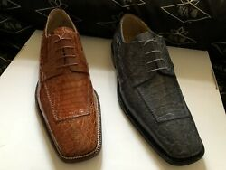 Genuine Crocodile Men's Shoes We Also Make Custom Suits, Shirts And Ties