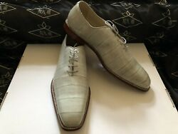 Genuine Eel Skin Men's Shoes We Also Make Custom Suits, Shirts And Ties