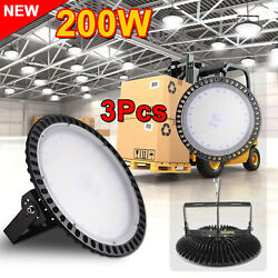3X200W AC110V LED High Bay Light Warehouse Fixture Factory Industrial Shed Lamp
