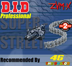 Did Steel X-ring Drive Chain 530 P - 120 L For Triumph Motorcycles