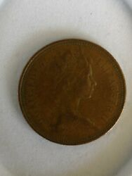 First Release 1971 Ultimate Rare 2 New Pence Coin In Perfect Condition
