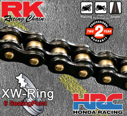 Rk Black Xw-ring Drive Chain 530 P - 114 L For Triumph Motorcycles