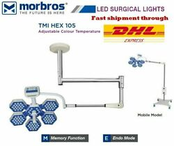 Examination Ot Light Operating Surgical Lamp Dual Color White And.yellow Led 105 M