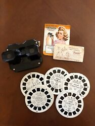 Vintage Sawyers View-master And 21 Disney Reels Bambi, Winnie The Pooh More