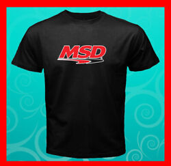 MSD Logo Ignition Boxes Distributors Coils Spark Men's T-Shirt S M L XL 2XL 3XL