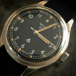 Mens vintage Smiths Military W10 Watch