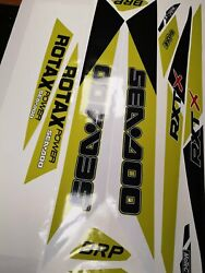 Seadoo Rxt Rxtx Is As Rs 255 260 300 For 2009-2017 Graphics Set Decals Kit Wrap