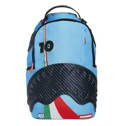 Brand New SPRAYGROUND Lambros Italy Italia Blue Rubber Shark Deluxe Bag $39.99
