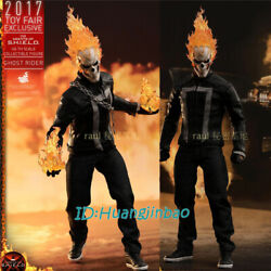 Hottoys Ghost Rider Action Figure Model 1/6 Scale Wf2017 In Box In Stock Rare