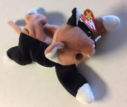 CHIP THE CAT 1996 TY BEANIE BABY with Misprint Tag *RARE*