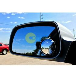 2x Blind Spot Mirror Round Adhesive 2 Inch Easy Fit Wide View Angle Van