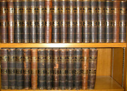 Leather Setlibrary World's Best Literature Encyclopedia1896britannica Twain