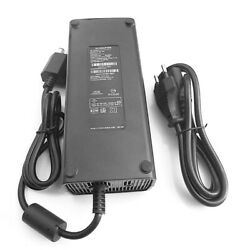 Ac Adapter Charger For Microsoft Xbox 360 Slim Power Supply Cord Mains Eu Uk Us