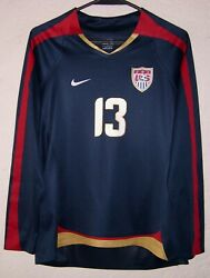 Usa Nike Womens Third 2007 Alex Morgan Player Issue L/s Soccer Jersey Very Rare