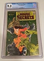 House Of Secrets 90 1971 Dc Cgc 9.2 Ow/w Beautiful Neal Adams Cover...