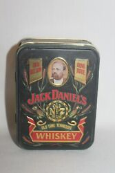 Vintage Jack Daniels Old No 7 Whiskey Collectors Tin And Mini Empty Bottles