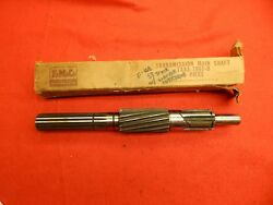 Nos 53 54 55 Ford F100 3spd Transmission Main Output Shaft Taaa-7061-b 13.21