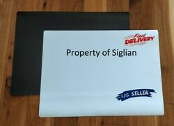 12x24 Blank Signage Magnets 30 Mil - Machine Pre-cut Rounded Corners 10 Pcs.