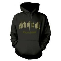 Sick Of It All #x27;Panther#x27; Pullover Hoodie NEW hood hoody