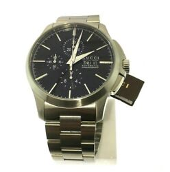 G-timless Chronograph Automatic Stainless Steel Watch Ya126264