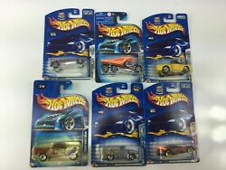 Hot Wheels Mixed Lot Of Collector Cars 6 Pieces Cabin Fever Dodge Power Wagon