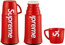Supreme X Helios Thermos Brand New Box Logo Bogo Cup Red Fw 2014 Free Shipping