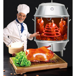 Bbq Chicken Duck Grill Roast Baking Roaster Carbon Cooking Stainless Steel