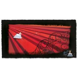 Disney Fine Art Lorelay Bove Red Staircase Signed Limited Edition Art