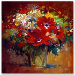 Simon Bull Limited Edition In The Morning Light Giclee On Canvas