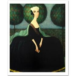 Sergey Smirnov Catherine The Great Limited Edition Mixed Media On Canvas