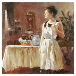 Pino Sunday Chores Cp Artist Embellished Limited Edition On Canvas Coa
