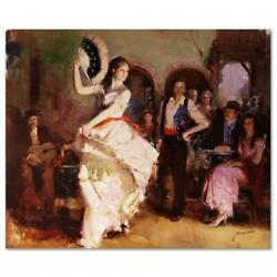 Pino The Last Dance Ap Artist Embellished Limited Edition On Canvas Coa