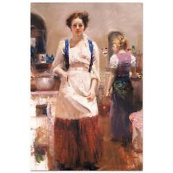 Pino The Country Chef Ap Artist Embellished Limited Edition On Canvas Coa